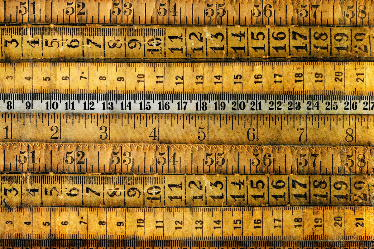 Rulers and measuring sticks