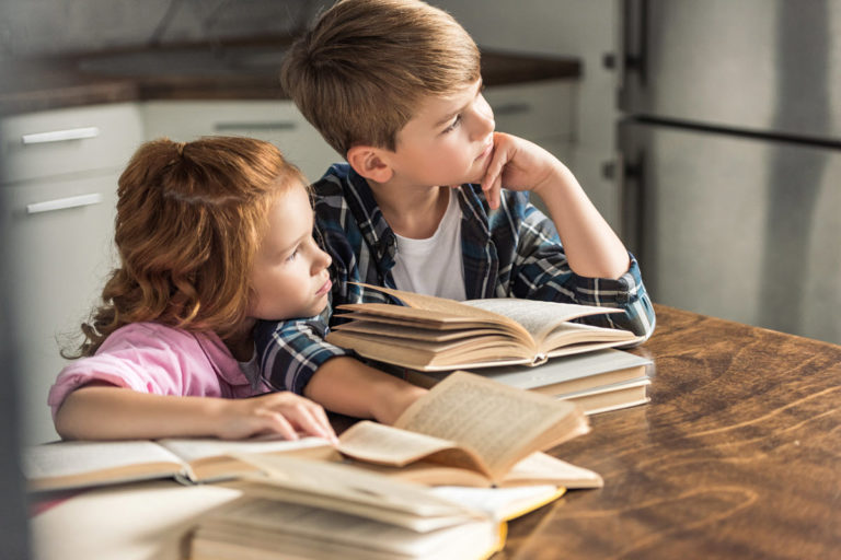 How To Organize Kid's Books At Home